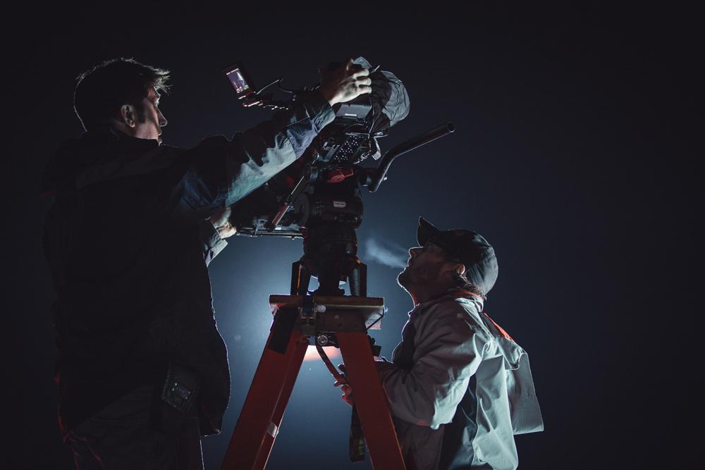 Behind the Scenes Still - Lullaby - Shelter Insurance - Cameramen