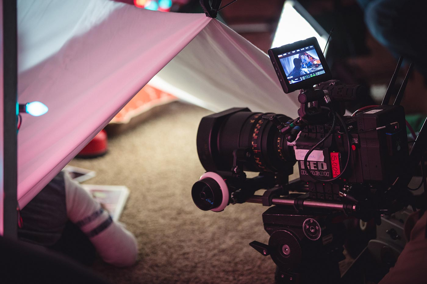 Behind the scenes video production Chimaeric Motion Pictures